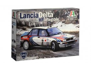 Italeri - Lancia Delta HF Integrale, Model Kit 3658, 1/24