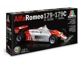 Italeri - Alfa Romeo 179C, Model Kit 4704, 1/12