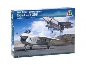 Italeri - X-32A and X-35B, JSF Program, Model Kit letadla 1419, 1/72