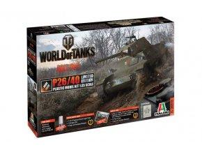 Italeri - Fiat-Ansaldo P26/40, Model Kit World of Tanks Limited Edition 36515, 1/35