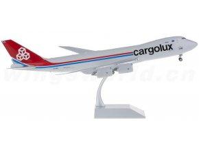 JC Wings - Boeing  B 747-8R7F, dopravce Cargolux, Lucembursko, 1/200