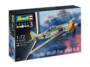 Revell - Focke Wulf Fw190 F-8,  ModelKit 03898, 1/72