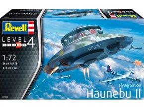 Revell - Haunebu II., Luftwaffe, Plastic ModelKit letadlo 03903, 1/72