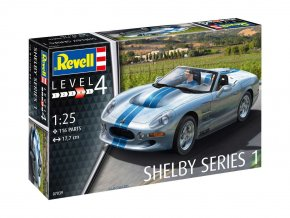 Revell - Shelby Series I, ModelKit 07039, 1/25