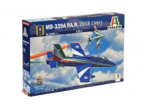Italeri - Aermacchi MB-339A P.A.N., 2018 Livery, Model Kit letadlo 1418, 1/72