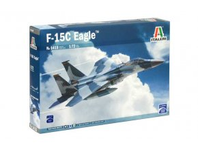 Italeri - F-15C Eagle, Model Kit letadlo 1415, 1/72