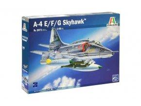 Italeri - A-4 E/F/G Skyhawk, Model Kit letadlo 2671, 1/48