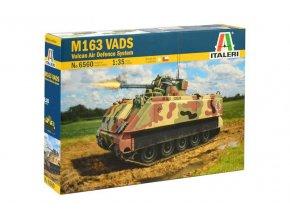 Italeri - M163 VADS, Model Kit tank 6560, 1/35