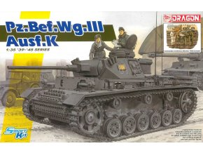 Dragon - Pz.Bef.Wg.III Ausf.K, Model Kit tank 6853, 1/35
