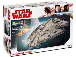 Revell - Star Wars - Millennium Falcon, Plastic ModelKit  SW 06718, 1/72