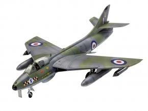 Revell - Hawker Hunter FGA.9, 100 let RAF, Model Set letadlo 63908, 1/72