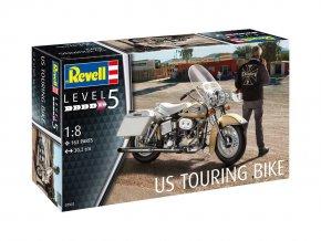 Revell - US Touring Bike, Plastic ModelKit motorka 07937, 1/8