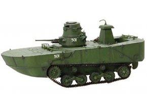 Dragon Armor - Mitsubishi Type 2 Ka-Mi, obojživelný tank, Kurilské ostrovy, 1944, 1/72 - SLEVA 30%