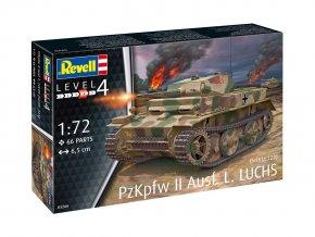 Revell - Panzer II Ausf.L Luchs, ModelKit 03266, 1/72