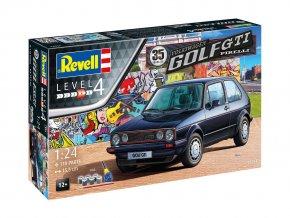 Revell - VW Golf 1 GTi Pirelli, 35 Years, Gift-Set auto 05694, 1/24