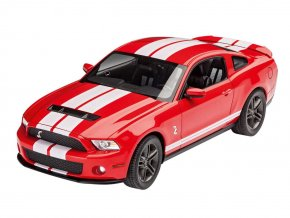 Revell - Ford Shelby GT 500, 2010, Model Set auto 67044, 1/25