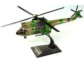 Altaya/IXO - Aérospatiale SA 332 Super Puma, francouzská armáda, 1/72