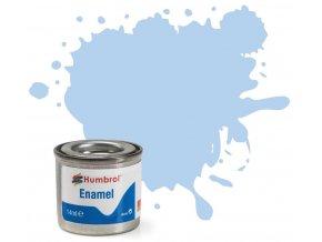 Humbrol barva email AA0044 No 44 Pastel Blue Matt 14ml a88733222 10374