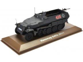 Atlas Models - Sd.Kfz.251/1 ''Hakl'', Wehrmacht, 1/43