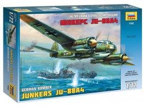 Zvezda - Junkers Ju-88 A4, Model Kit 7282, 1/72