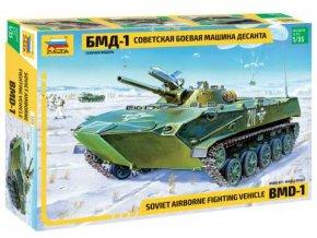 Zvezda - bojové vozidlo pěchoty BMD-1, výsadkaři, Model Kit 3559, 1/35