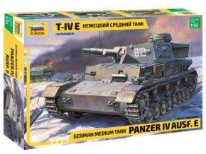 Zvezda - Panzer IV Ausf.E, Model Kit 3641 , 1/35