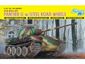 Dragon - Pz.Kpfw.V Ausf.G Panther, Model Kit tank 6370, 1/35