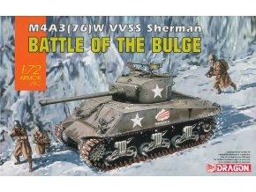 Dragon - M4A3(76)W VVSS Sherman, Model Kit 7567, 1/72