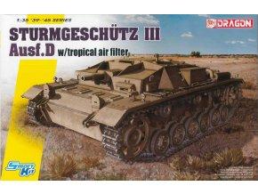 Dragon - Sd.Kfz.142 Sturmgeschütz III Ausf.D - StuG III s tropickým vzduchovým filtrem, Model Kit tank 6905, 1/35