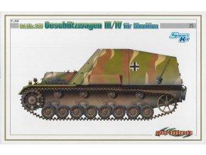 Dragon - Sd.Kfz.165 Geschützwagen III/IV na munici, Model Kit military 6151, 1/35