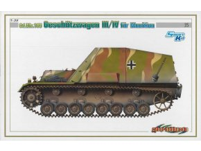 Dragon - Sd.Kfz.165 Geschützwagen III/IV na munici, Model Kit military 6151, 1/35