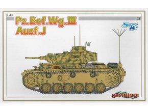 Dragon - Pz.Bef.Wg.III Ausf.J, německá armáda, Model Kit tank 6544, 1/35