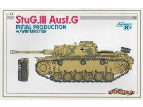Dragon - Sd.Kfz.142 Sturmgeschütz III Ausf.G - StuG III, Model Kit 6598, 1/35
