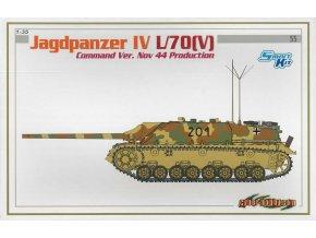 Dragon - Jagdpanzer IV L/70(V), velitelská verze, Model Kit tank 6623, 1/35