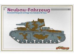 Dragon - Neubaufahrzeug Rheinmetall, MG-Türme, Model Kit tank 6666, 1/35