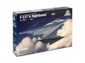 Italeri - F-117A NIGHTHAWK, Model Kit 2750, 1/48