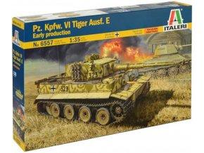 Italeri - Pz.Kpfw.VI Tiger Ausf.E, Early Prod., Model Kit 6557, 1/35