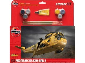 Airfix - Westland Sea King Har.3, Starter Set vrtulník A55307, 1/72