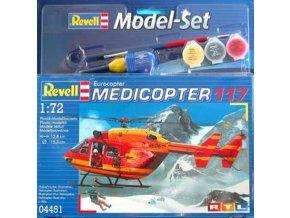 Revell - Medicopter 117, ModelSet vrtulník 64451, 1/72