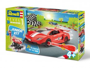 Revell - Racing Car, Junior Kit auto 00800, 1/20