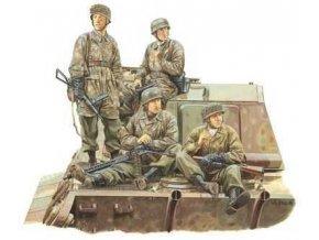 Dragon - figurky němečtí výsadkáři, 3 Fallschirmjäger divisions, Ardeny, 1944, Model Kit figurky 6113,1:35