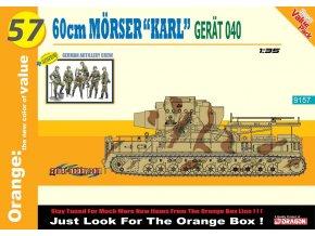 Dragon - těžký moždíř Mörser Karl, Model Kit military 9157, 1/35