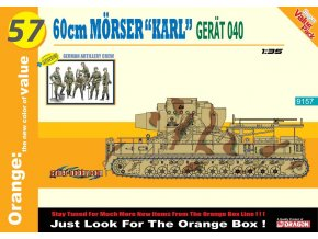 Dragon - těžký moždíř Mörser Karl, Model Kit military 9157, 1/35