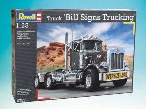 "Revell - Truck ""Bill Sign Trucking"", Plastic ModelKit auto 07522, 1/25"
