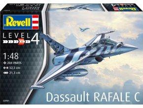 Revell - Dassault Rafale C, Plastic ModelKit letadlo 03901, 1/48