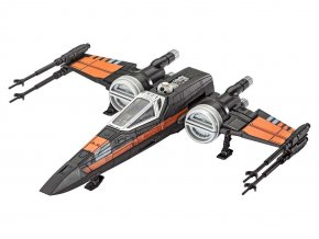 Revell - Star Wars - Poe's X-wing Fighter - zvukové efekty, Build & Play SW 06750
