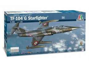 Italeri - Lockheed TF-104 G Starfighter, Model Kit letadlo 2509, 1/32