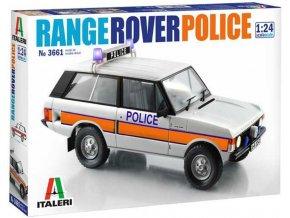 Italeri - Police Range Rover, Model Kit auto 3661, 1/24