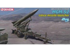 Dragon - MGM-52 Lance Missile s odpalovací rampou, Model Kit military 3600, 1/35