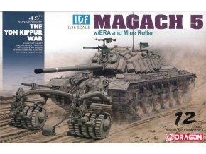 Dragon - IDF Magach 5 s ERA pancířem a odminovacím zařízením, Model Kit tank 3618, 1/35